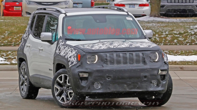 2019 Renegade Spy Shots Allgemeines Renegade New Jeep Forum