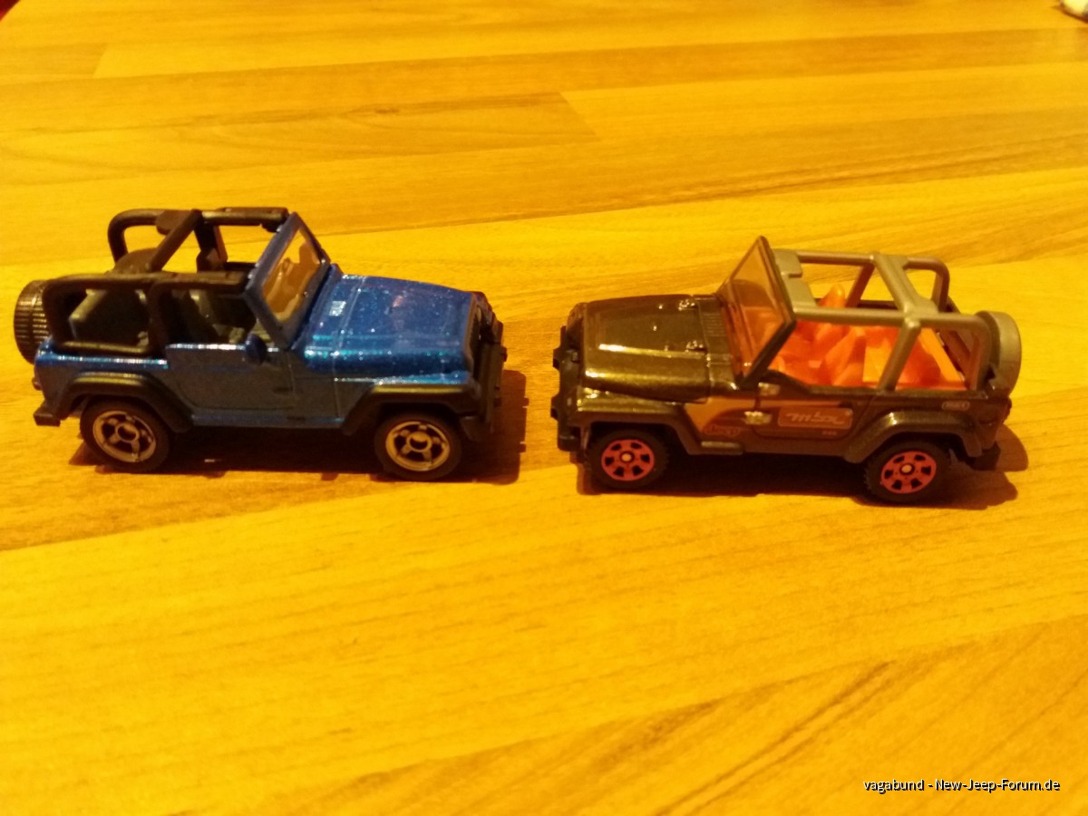 Miniatur Jeep Wrangler
