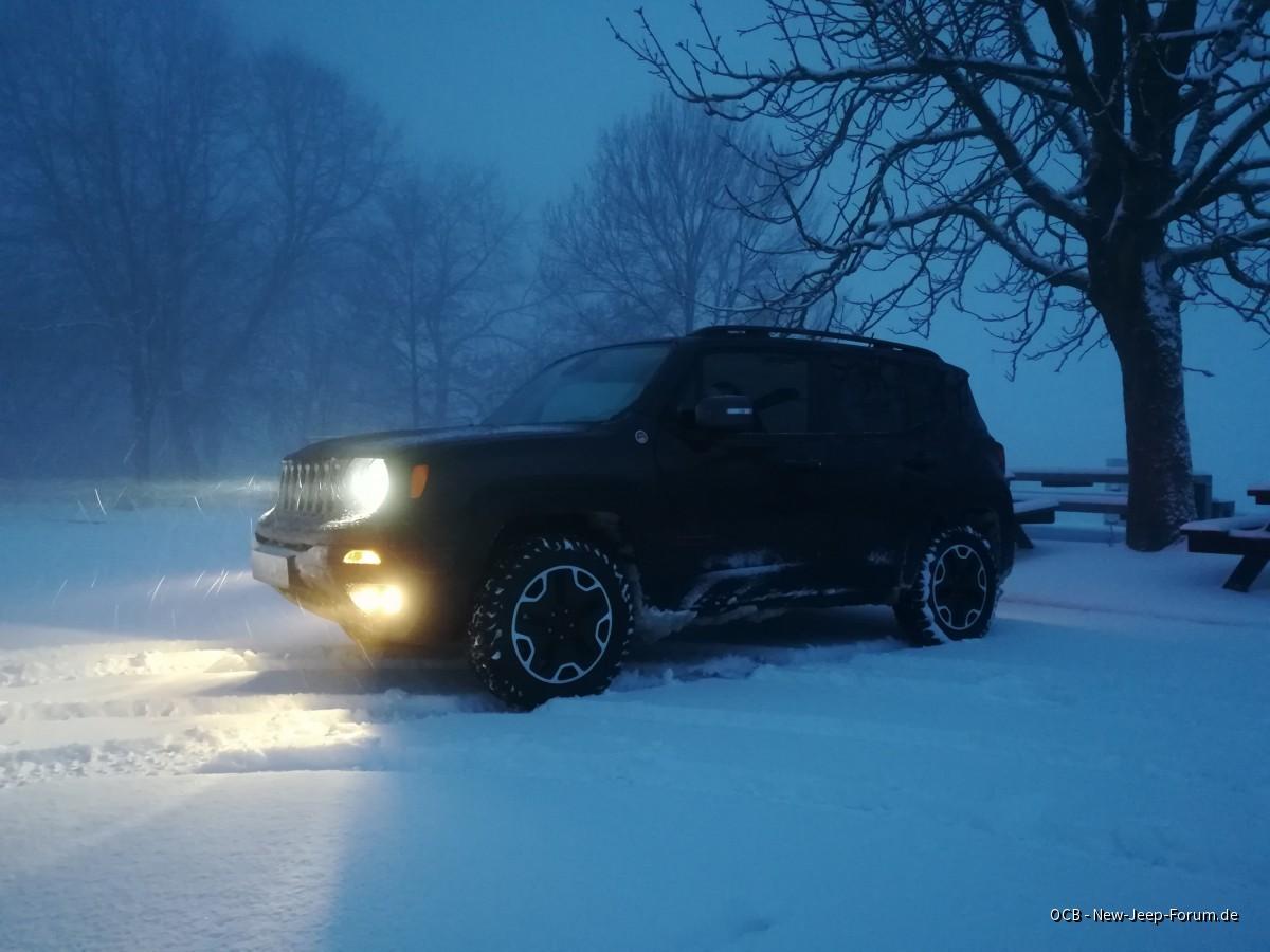 Gestern im Schnee spielen