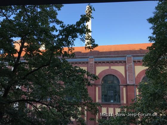 Sicht aus dem Bürofenster Heidelberg