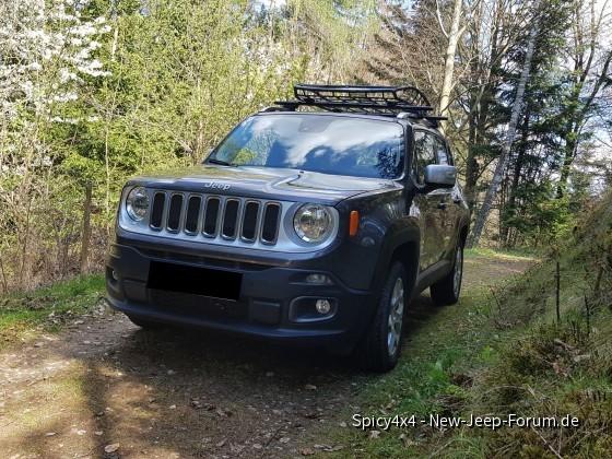 Dachkorb für meinen Jeep