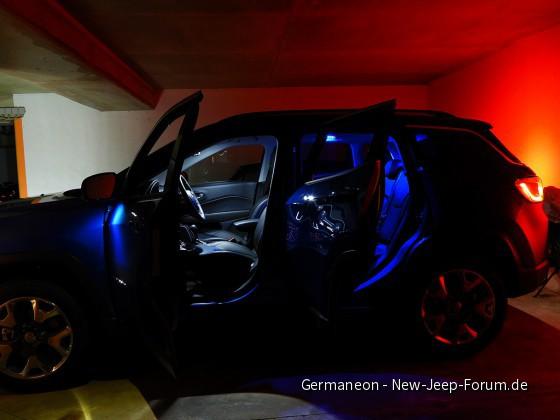 Laser Blue Innenraum LED