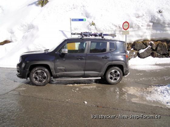 Yaki im Schnee