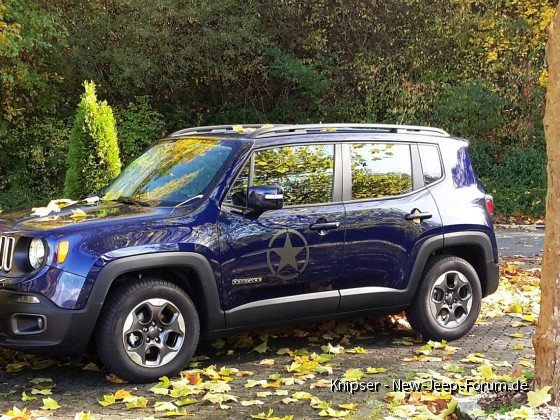 My new Renegade im Herbst 1