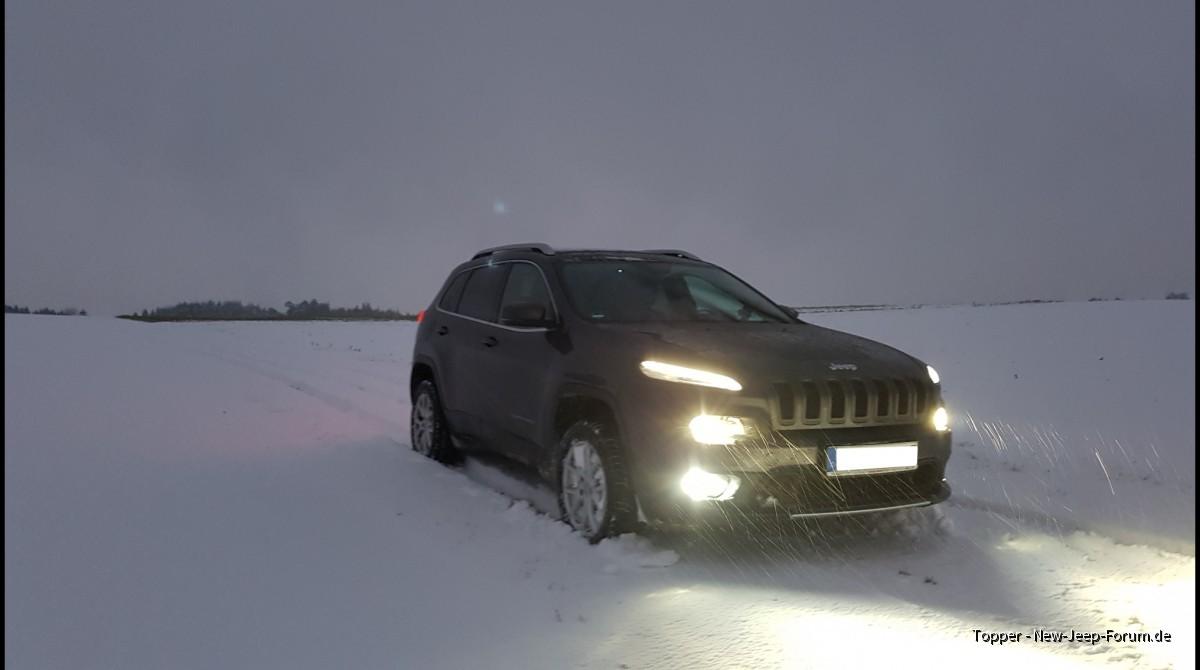 im Schnee 2019-01-05