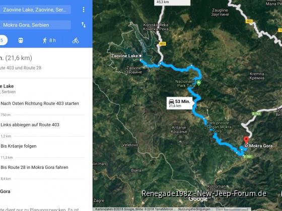 Schöne Offroad Tour durch die serbische Bergregion Tara!