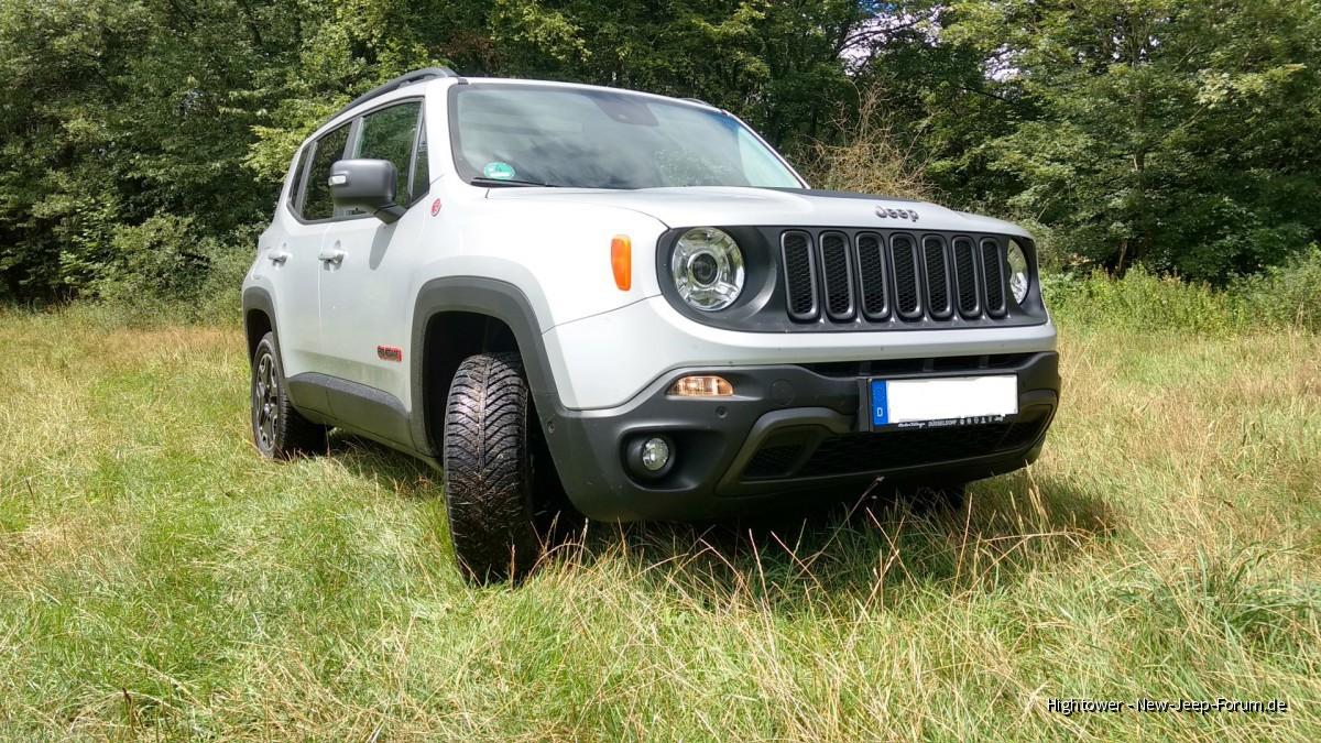 Jeep Renegade Trailhawk als Vielfahrerauto