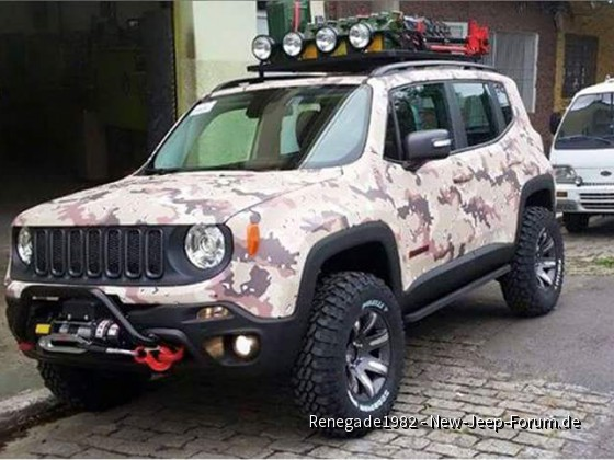 Jeep Renegade Ital. Offroad Version