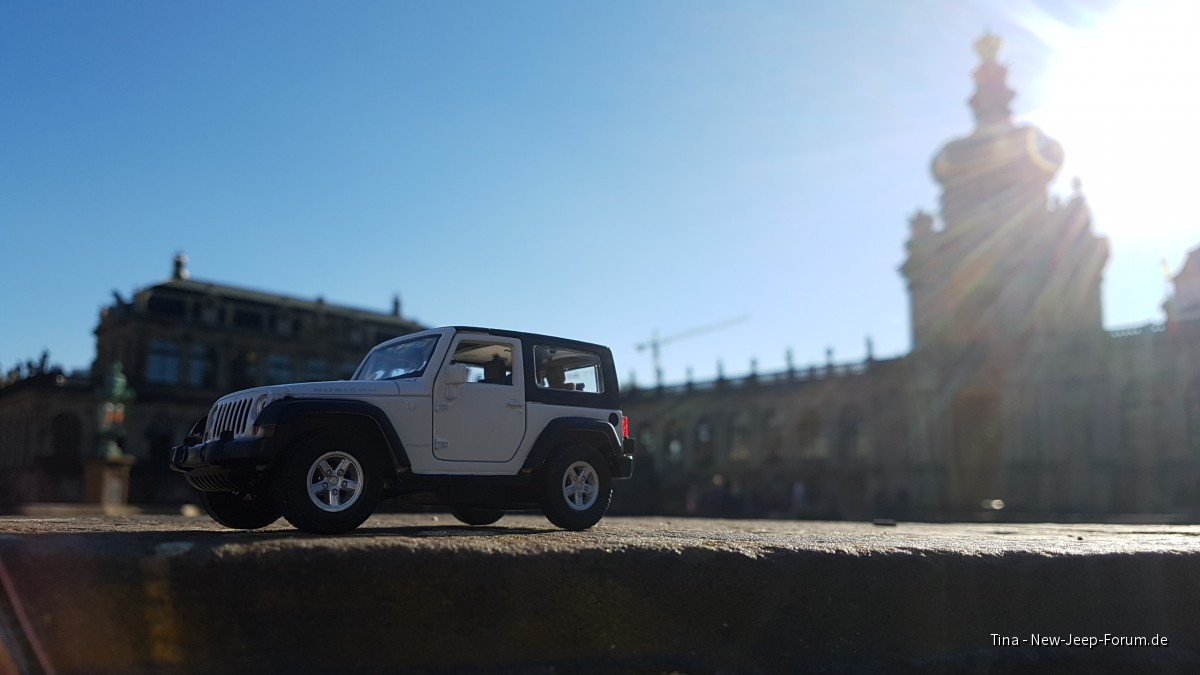 Jeep Wrangler JK Mini in Dresden