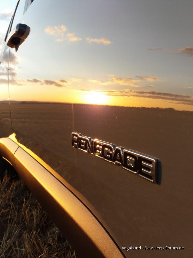 Renegade bei Sonnenuntergang