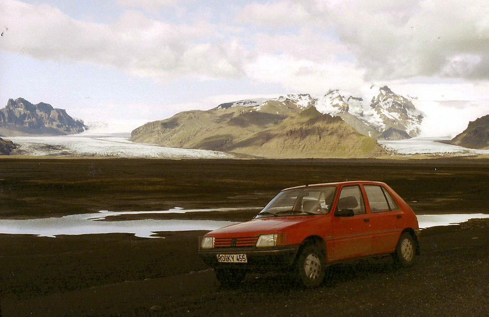 Historischer Rückblick - 1. Auto auf Islandtrip 1992