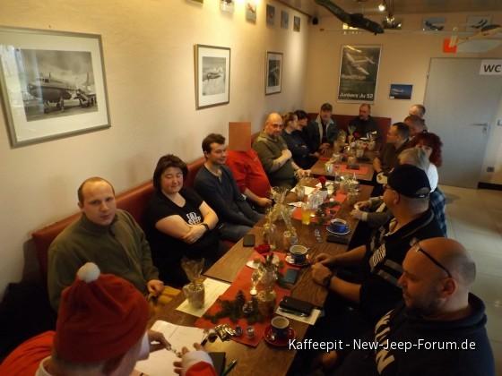 Bilder vom Adventsstammtisch des JCD in Speyer