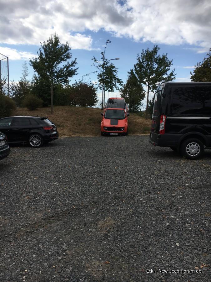 """""""Kein Parkplatz frei"""" hat er gesagt"""