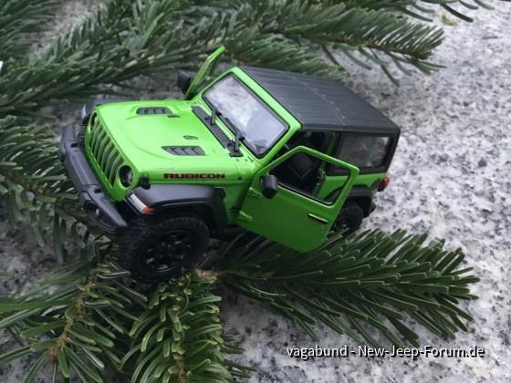 Jeep Wrangler JL Rubicon Mojito 2018 Kinsmart 1:34 , no.2