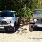 """Jeep """"Gesichter"""""""