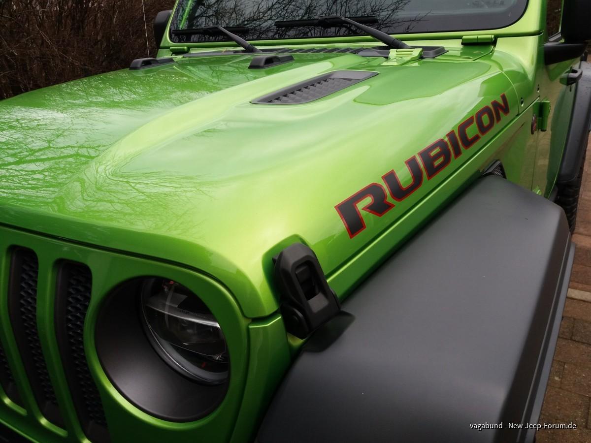 Es schimmert so schön grün...