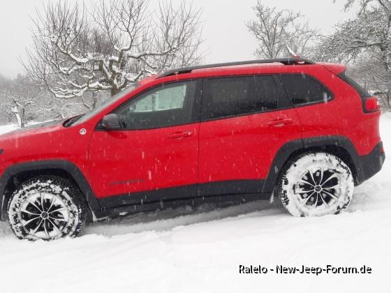 Der Indianer im Schnee
