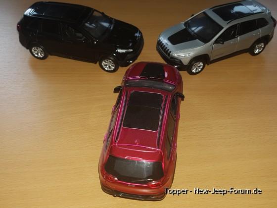 Cherokee KL Modelle