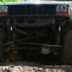 Cherokee XJ in seinem Element