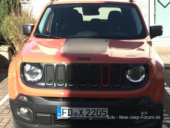 Mein Jeep mit bösen Blick