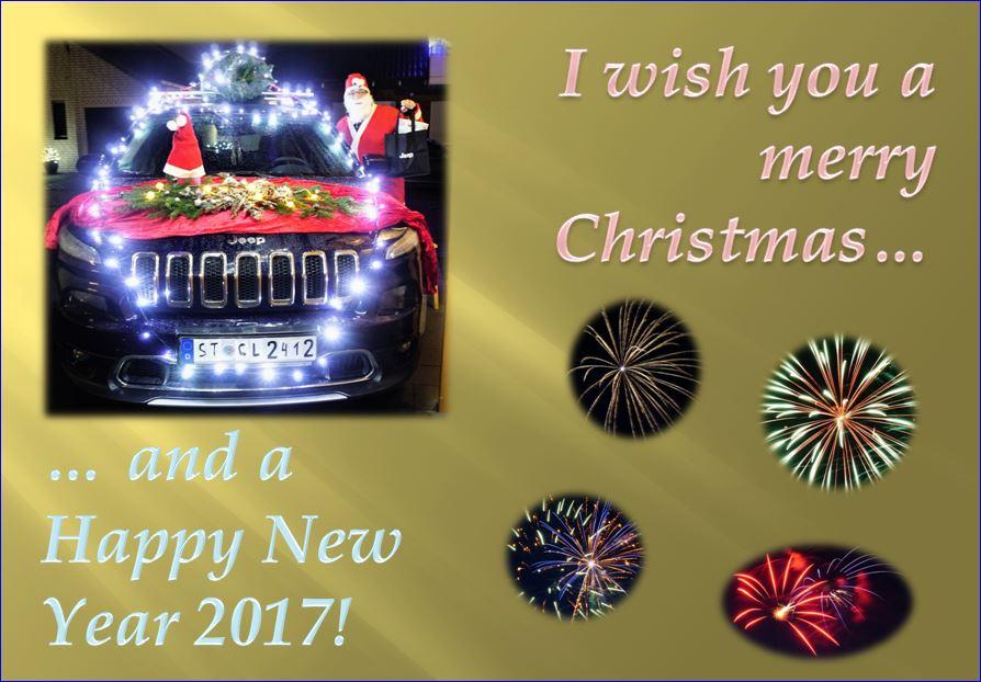 Frohe Weihnachten allen Fories