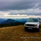 Mein Renegade in den Serbischen Bergen