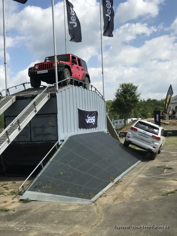 Jeep Parcours in Bad Kissingen