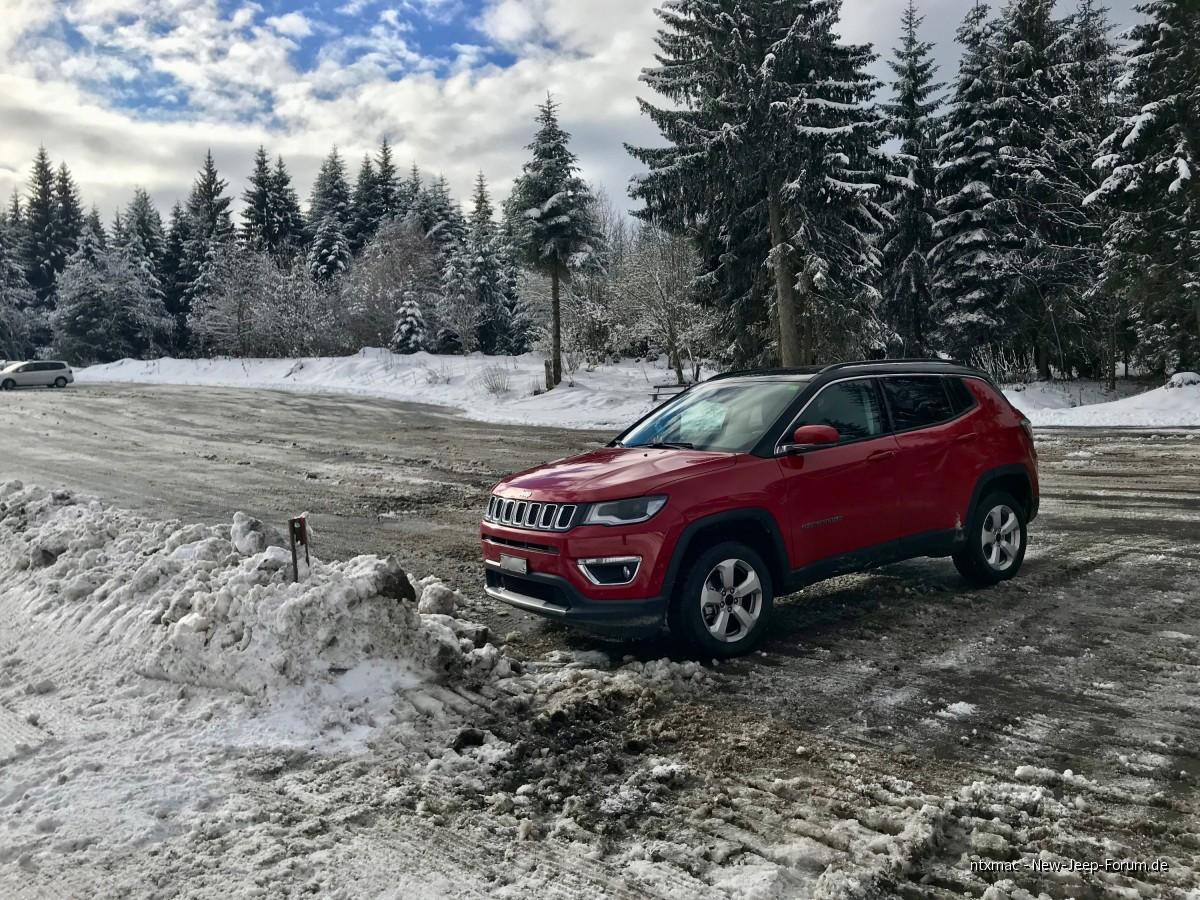 Jeep Compass 2018 - Ausfahrt in die Berge