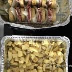 Kartoffel-Zwiebel-Speck Schaschlik