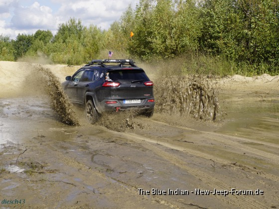 Trailhawk in Action