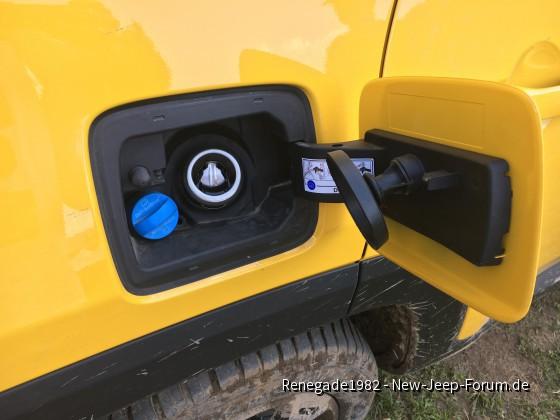 Jeep Renegade 2019er AdBlue