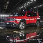 Jeep Renegade Ital. Feuerwehr