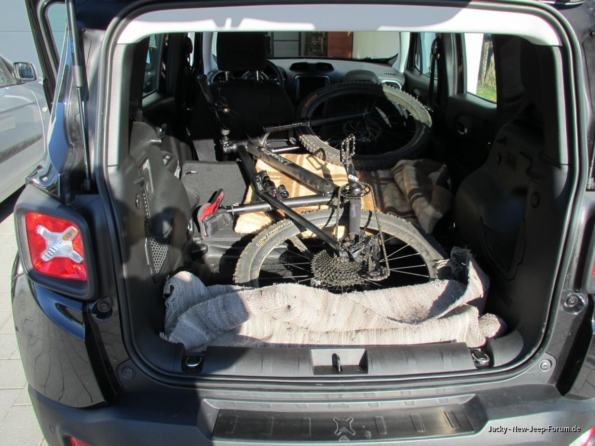 MTB-tauglicher Kofferraum