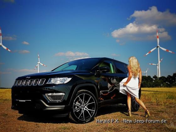 Eine Kundin und Ihr Jeep