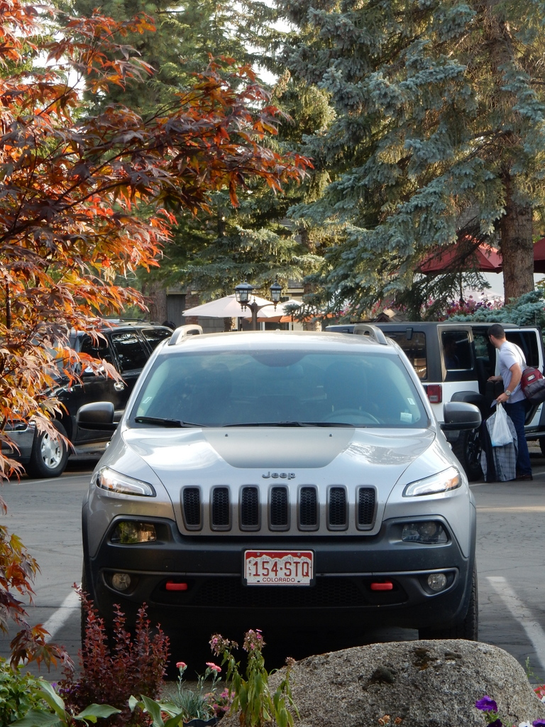 Cherokee in unserem Hotel in Lake Tahoe.