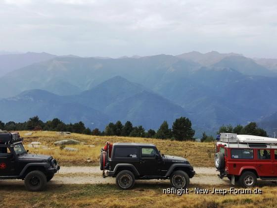 Alpentrek im September 17
