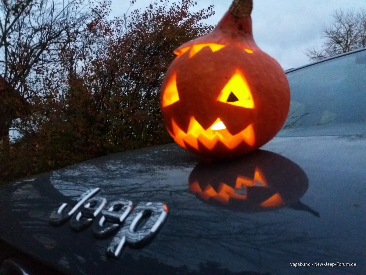 Halloween und Jeep