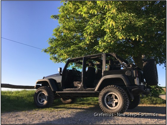 Jeep offen