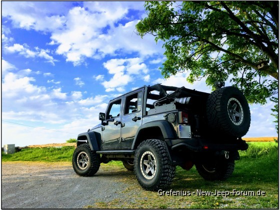 Jeep Dach offen