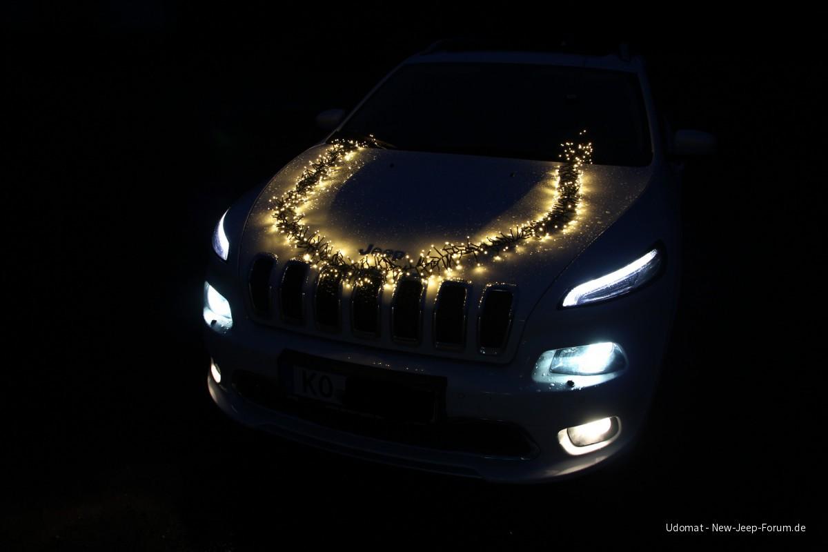 Selbst ist der Indianer bei der Weihnachtlichen Stromversorgung ;-)